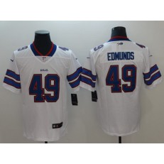 Buffalo Bills 49 Tremaine Edmunds White Vapor Untouchable Limited Nike NFL Men Jersey