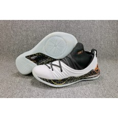 UNDER ARMOUR CURRY 5 LOW BLACK WHITE COPPER 3020657-108