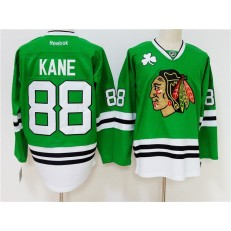 Chicago Blackhawks 88 Patrick Kane Green Reebok NHL Men Jersey
