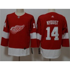 Detroit Red Wings 14 Gustav Nyquist Red Youth Adidas Jersey