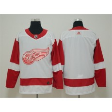 Detroit Red Wings Blank White Adidas NHL Men Jersey