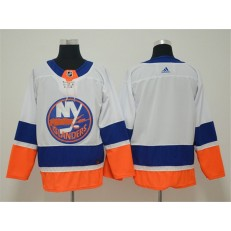 New York Islanders Blank White Adidas NHL Men Jersey