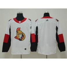 Ottawa Senators Blank White Adidas NHL Men Jersey