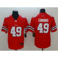 Buffalo Bills #49 Tremaine Edmunds Red Vapor Untouchable Limited Nike NFL Men Jersey