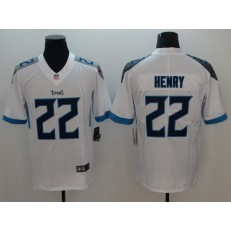 Youth Nike Tennessee Titans #22 Derrick Henry White New Vapor Untouchable Player Limited NFL Jersey