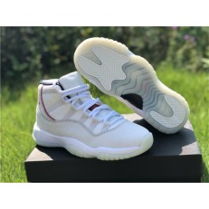 AIR JORDAN 11 GS PLATINUM TINT 378038-016