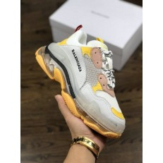 BALENCIAGA TRIPLE-S SNEAKER 3.0 WHITE YELLOW