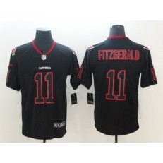 Arizona Cardinals #11 Larry Fitzgerald Black Shadow Legend Limited Nike NFL Men Jersey