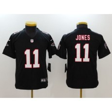 Youth Nike Atlanta Falcons #11 Julio Jones Black Vapor Untouchable Limited NFL Jersey