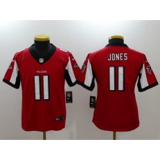 Youth Nike Atlanta Falcons #11 Julio Jones Red Vapor Untouchable Limited NFL Jersey