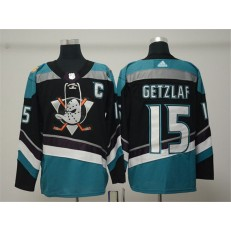 Anaheim Ducks #15 Ryan Getzlaf Black Alternate Adidas NHL Men Jersey