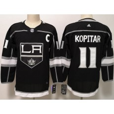 Los Angeles Kings #11 Anze Kopitar Black Women Adidas Jersey