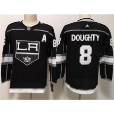 Los Angeles Kings #8 Drew Doughty Black Women Adidas Jersey