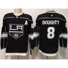 Los Angeles Kings #8 Drew Doughty Black Youth Adidas Jersey