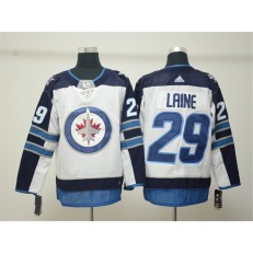 Winnipeg Jets #29 Patrik Laine White Adidas NHL Men Jersey