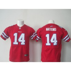 Youth Nike Buffalo Bills #14 Sammy Watkins Red Limited Jersey