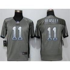 Youth Nike Dallas Cowboys #11 Cole Beasley Grey Drift Fashion Jersey