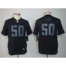 Youth Nike Dallas Cowboys #50 Sean Lee Black Impact Limited Jersey
