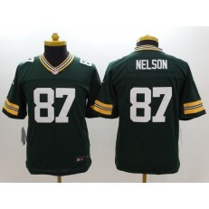 Youth Nike Green Bay Packers #87 Nelson Green Limited Jersey