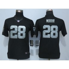 Youth Nike Oakland Raiders #28 Latavius Murray Black Limited Jersey