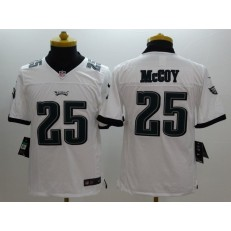 Youth Nike Philadelphia Eagles #25 McCoy White Limited Jersey