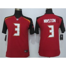 Youth Nike Tampa Bay Buccaneers #3 Winston Red Limited Jersey