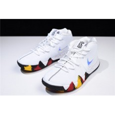 NIKE KYRIE 4 NCAA MARCH MADNESS WHITE MULTI COLOR 943807-104