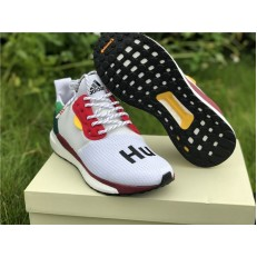 PHARRELL X ADIDAS SOLAR HU GLIDE WHITE RED BB8044