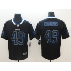 Nike Buffalo Bills #49 Tremaine Edmunds Black Shadow Legend Limited Jersey