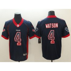 Nike Houston Texans #4 Deshaun Watson Black Drift Fashion Limited Jersey