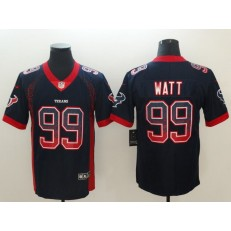 Nike Houston Texans #99 J.J. Watt Black Drift Fashion Limited Jersey