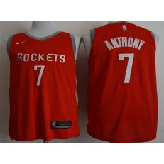 Houston Rockets #7 Carmelo Anthony Red 2018-19 Nike Authentic Jersey
