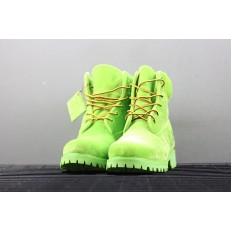 OFF-WHITE x TIMBERLAND 6 INCH BOOT GREEN A1Q8O