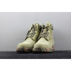TIMBERLAND 6 INCH PREMIUM CAMO PACK ARMY GREEN NUBUCK BOOTS 6716B