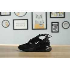 KID'S NIKE AIR MAX 270 BLACK