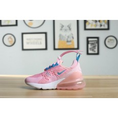 KID'S NIKE AIR MAX 270 PINK WHITE BLUE