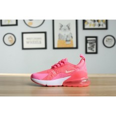KID'S NIKE AIR MAX 270 PINK WHITE