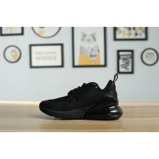 KID'S NIKE AIR MAX 270 TRIPLE BLACK