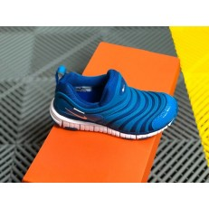 KID'S NIKE DYNAMO FREE PS BLUE WHITE 343738-419