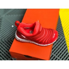 KID'S NIKE DYNAMO FREE PS BRIGH CRIMSON WHITE 343738-624