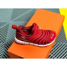 KID'S NIKE DYNAMO FREE PS RED WHITE 343738-621