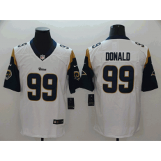 Los Angeles Rams #99 Aaron Donald White Vapor Untouchable Limited Nike NFL Men Jersey