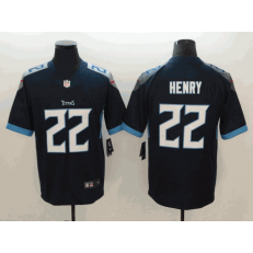 Tennessee Titans #22 Derrick Henry Navy New 2018 Vapor Untouchable Limited Nike NFL Men Jersey