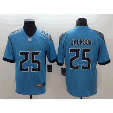 Tennessee Titans #25 Adoree' Jackson Light Blue New 2018 Vapor Untouchable Limited Nike NFL Men Jersey
