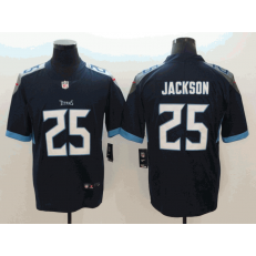 Tennessee Titans #25 Adoree' Jackson Navy New 2018 Vapor Untouchable Limited Nike NFL Men Jersey