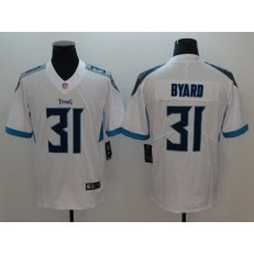 Tennessee Titans #31 Kevin Byard White New 2018 Vapor Untouchable Limited Nike NFL Men Jersey
