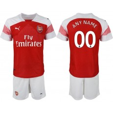 2018-19 Arsenal Customized Home Soccer Jersey
