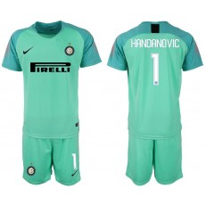 2018-19 Inter Milan #1 HANDANOVIC Green Goalkeeper Soccer Jersey
