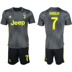 2018-19 Juventus #7 RONALDO Second Away Soccer Jersey
