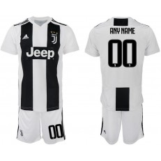 2018-19 Juventus FC Customized Home Soccer Jersey
